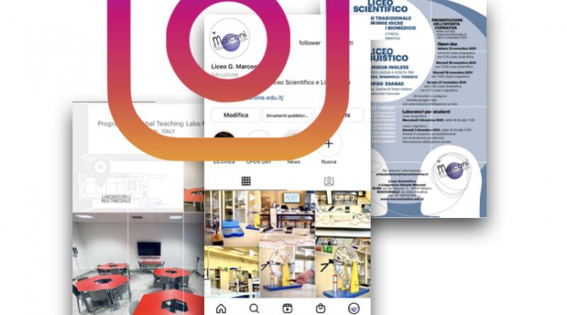 Nuovo account Instagram del Liceo Marconi!